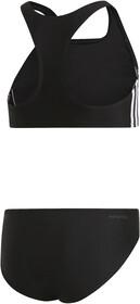 adidas Fit 3 Stripes 2 Piece Bikini Mädchen blackwhite